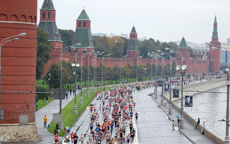 Moscow Running Tour